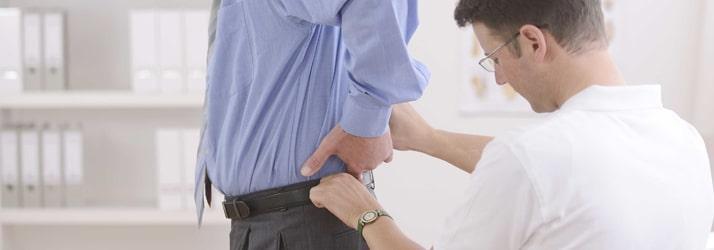 Chiropractic Hillsborough NJ Man with Back Pain