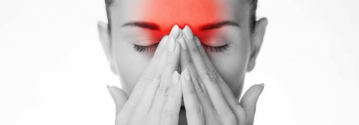 Chiropractic Hillsborough NJ Woman with Headache