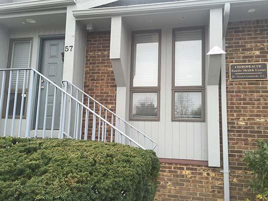 Chiropractic Hazlet NJ Front of Building